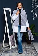 Модная шубка с искусственного меха GF 2/021-2, фото 1