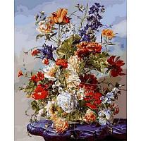Картина по номерам Цветочная рапсодия, 40x50 см., Babylon