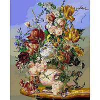Картина по номерам Цветочные чары, 40x50 см., Babylon