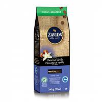 Кофе в зернах Zavida Decaf Hazelnut Vanilla - Ваниль и лесной орех без кофеина