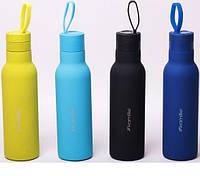 Термос-пляшка Kamille з петлею, 0,475 л, фото 1