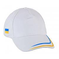 """Белая кепка """"Патриот"""" 1150 UA"""