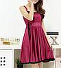 Ночная сорочка 0189 вишневая