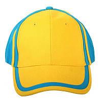 "Бейсболка ""Патриот"" 1130 UA (желто-голубая)"