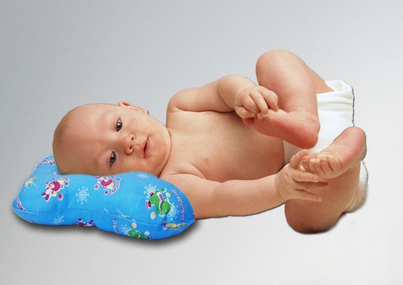 Ортопедическая подушка для новорожденных Бабочка Marselle