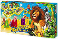 """Домино """"Животные"""" в картинках Danko Toys"""