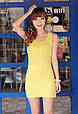 Платье майка туника Рretty желтая, фото 2