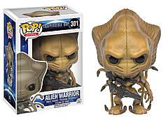 Фигурка Funko Pop Фанко Поп День независимости Воин Чужие Alien Warrior 10 см Movies BL ID AW301