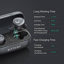 BlitzWolf BW-FYE4 True Wireless Навушники Bluetooth 5.0 Бездротові Навушники, фото 2