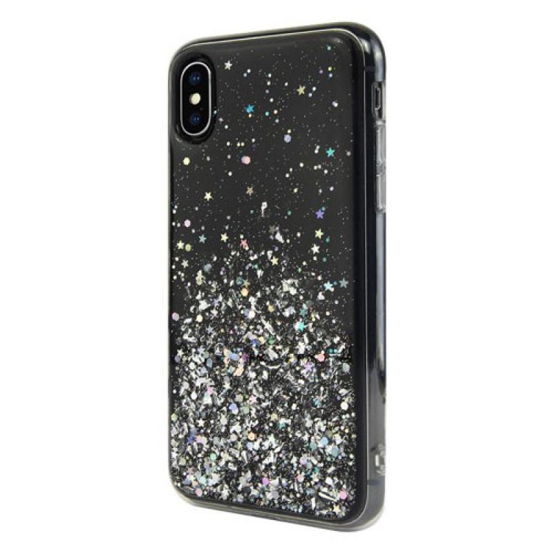 Switcheasy Starfield чехол для iPhone XS Max Ultra Black (GS-103-46-171-19)