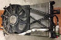 Диффузор с вентилятором осн радиатора 7 лопастей Opel Zafira A (F75_) 1.8 16V