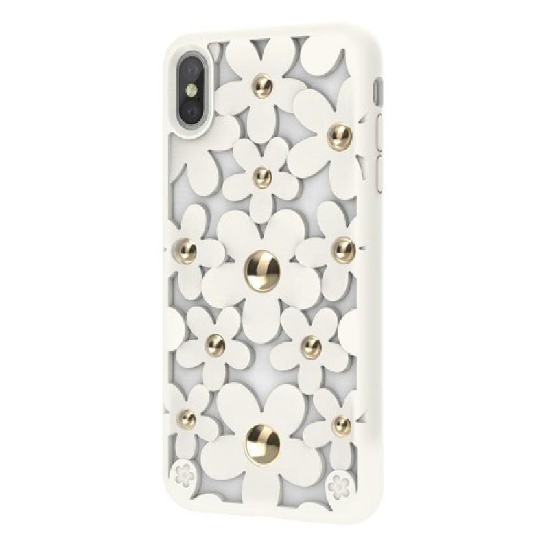 Switcheasy Fleur чехол для iPhone XS Max White (GS-103-46-146-18)