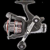 Fanatic 50BBC fishing reel (Катушка с бейтраннером и запасной графитовой шпулей, 5+1BB)