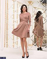 2bb396ee937 Вилена женская одежда до 1042 грн. Купить выгодно. Женское трикотажное  платье