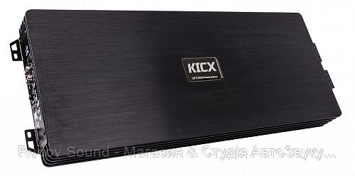 Усилитель Kicx QS 1.3000M Black (Моноблок   1000w в 4Ω   1500w в 2Ω   2500w в 1Ω   Класс:D)