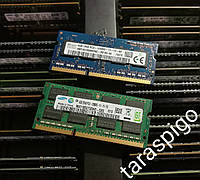 SO-DIMM DDR3 на 4GB (PC3-12800) DDR3-1600 Intel/AMD