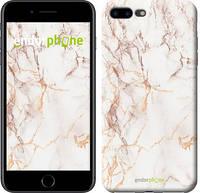 """Чехол на iPhone 8 Plus Белый мрамор """"3847c-1032-17753"""""""