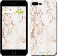"""Чехол на iPhone 7 Plus Белый мрамор """"3847c-337-17753"""""""