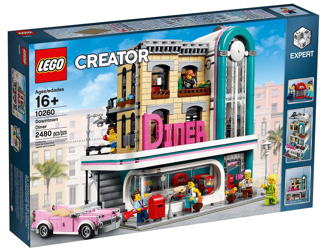 Lego Creator Expert Ресторанчик в Центре 10260