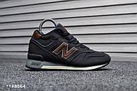 1ab53297b7e4 Кроссовки зимние мужские в стиле New Balance 1300, натуральная кожа,  натуральный мех код TD