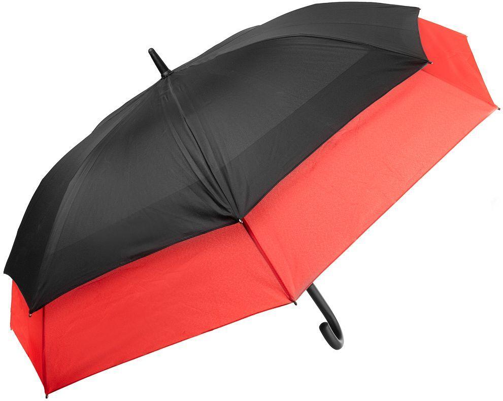 Зонт-трость женский PIERRE CARDIN U82351, полуавтомат, черный