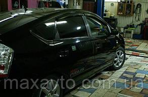 Дефлекторы боковых стекол Toyota Prius III 2009 (Тойота Приус) Cobra Tuning