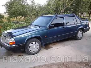 Дефлекторы боковых стекол Volvo 940 Sd/Combi 1990-1998 (Вольво 940) Cobra Tuning