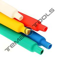 Термоусадочна трубка 7 мм 2:1 – термоусаживаемая трубка ТУТ, термоусадка CYG кольорова