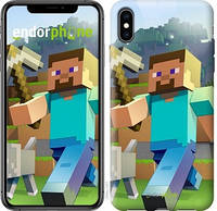 "Чехол на iPhone XS Max Minecraft 4 ""2944c-1557-17753"""