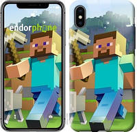 "Чехол на iPhone XS Minecraft 4 ""2944c-1583-17753"""