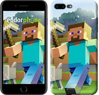 "Чехол на iPhone 7 Plus Minecraft 4 ""2944c-337-17753"""