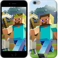 "Чехол на iPhone 6s Plus Minecraft 4 ""2944c-91-17753"""