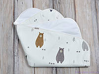 Пеленки непромокаемые (размер 60*80 см), Медведи в лесу, фото 1