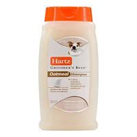Hаrtz Groomer's Best Living Oatmeal Shampoo Шампунь для собак с овсом для проблемной кожи