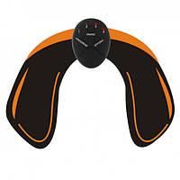 Тренажер для мышц ягодиц EMS hips trainer Черный с желтым (101005023)