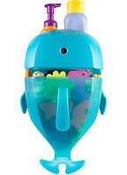 Органайзер в ванную для игрушек Whale Pod от Boon