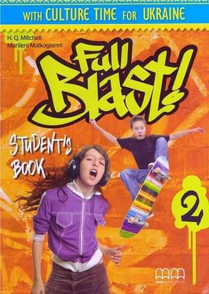 Full Blast! 2 Student's Book Ukrainian Edition, фото 2