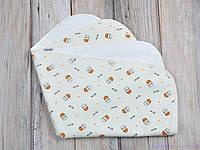 Многоразовая непромокаемая пеленка непромокашка (размер 60*80 см), Milk small, фото 1