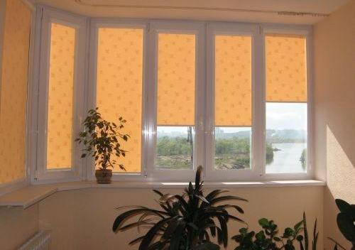 Тканевые ролеты на окна