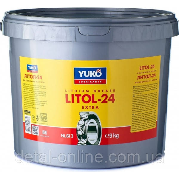 Смазка Литол-24 (9 кг) (YUKOIL)