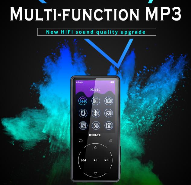 "MP3 плеер Bluetooth""Ruizu D16"" HiFi Lossless Audio 8ГБ"