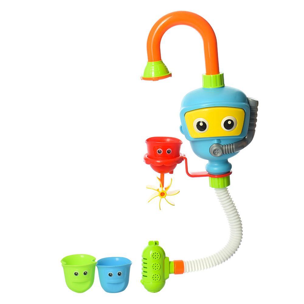 Водопад 9908 Робот с насосом игрушка в ванную