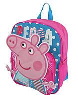 Детский рюкзак свинка Пеппа розовый
