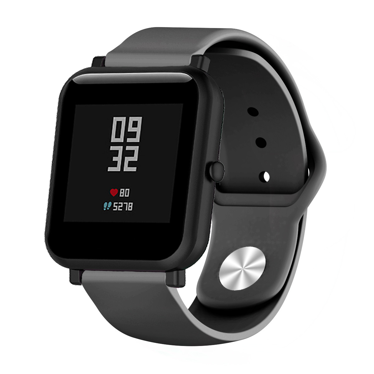 Ремешок Sport Nike Youth для Xiaomi AMAZFIT Bip / 20 мм Black (Черный)