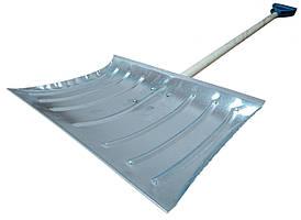 Лопата снігоприбиральна оцинкована з черешком (ПП КВВ)