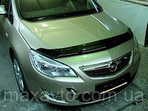 Мухобойка OPEL Astra 2010- хб темный длинный (Опель Астра) SIM