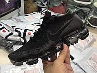 Женские кроссовки Nike Air Vapormax Flyknit (Black/Anthracite - Dark Grey)