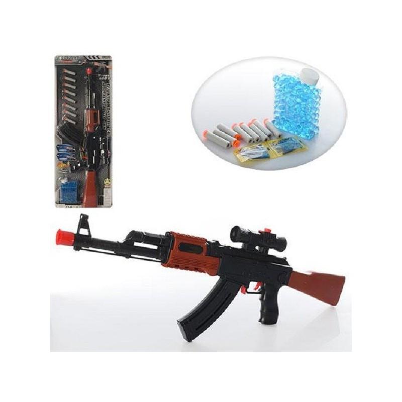 Автомат с водяными пулями (орбиз) AK47-2 67см с прицелом
