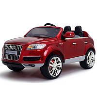 Детский электромобиль Audi Q7 Quattro: лицензия, покраска RED - купить оптом