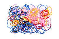 Резиночки для волос маленькие силикон цветные, фото 1